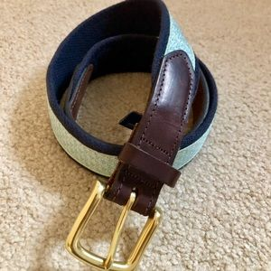 VINEYARD VINES Canvas WHALE Belt